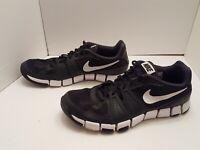 Nike Size 11.5 Men's Training Athletic Running Shoes Black 684701 004