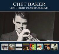 CHET BAKER - 8 CLASSIC ALBUMS  4 CD NEW+