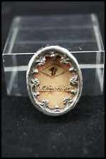 † 19TH SAINT ALOYSIUS GONZAGA STERLING RELIQUARY 1 THECA RELIC WAX SEAL ITALY †