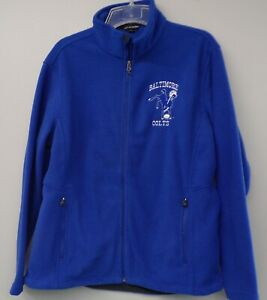 NFL Football Baltimore Colts Logo Mens Fleece Jacket XS-6XL New