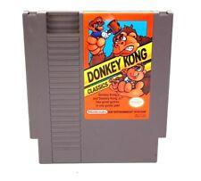 Nintendo NES Game Donkey Kong Classics 2 Games in 1 including Donkey Kong Jr