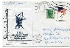 1966 NASA Data Acquisition Faculity Fairbanks Alaska Fairbanks Germany SPACE USA