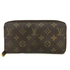 Authentic Louis Vuitton Monogram Zippy Zip Around Organizer Long Wallet /60715