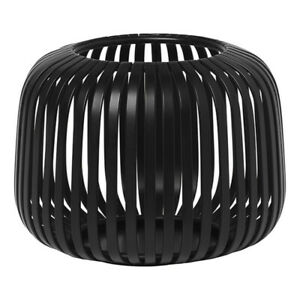 Blomus Laterne Lito XS, Indoor Windlicht, Kerzenhalter, Stahl, Black, 10 cm