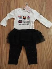 New Carters Daddy Under My Spell Baby Girls Outfit 9M Halloween Bodysuit Legging