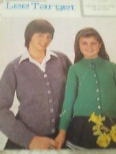 LISTER  Lovely Childrens Cardigans Easy Knit knitting pattern  Size 24-34