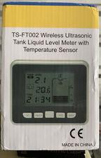 TS-FT002 Wireless Ultrasonic Tank Level Meter With Temperature Sensor