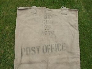 Vintage GPO Royal Mail Post Office Mail Bag Mail Sack 1970 Display, TV Prop T697