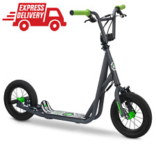 Mongoose Expo Youth Scooter, Front And Rear Caliper Brakes, Rear Axle Pegs, 12-I