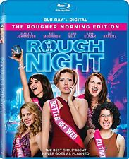 ROUGH NIGHT (Scarlett Johansson)  - BLU RAY - Region free - Sealed