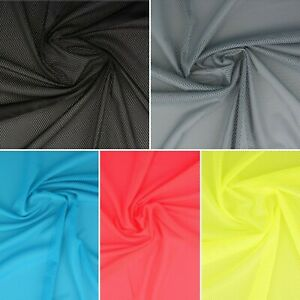 """AIRTEX Stretch Mesh Net Fabric - 60"""" 150cm Wide Polyester Material - Activewear"""