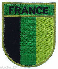 INSIGNE OPEX ECUSSON DRAPEAU FRANCE BASSE VISIBILITE AIRSOFT PATCH ARMEE