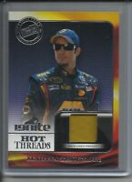 2013 PRESS PASS HOT THREADS MARTIN TRUEX JR.RACE-USED FIRESUIT CARD