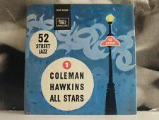 "COLEMAN HAWKINS ALL STARS - SONET EP 7"" EX-/VG+ SONET SXP 2005 SWEDEN"