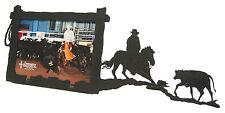 "Cutting Horse Picture Frame 3.5""x5"" - 3""x5"" H - Cow - Calf"