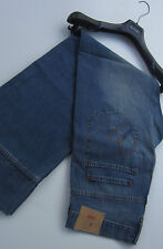 "Paul smith jeans ""rouge oreille"" superbe bleu moyen red ear design jeans 32""W 33""L"