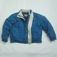 Vintage Members Only Jacket Rainbow Tag Blue  Mens Size 44