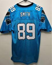 35affb885 Reebok NFL Carolina Panthers Steve Smith Jersey Youth Large (14 16) And Hat