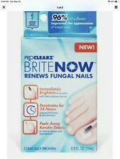 ProCLEARZ BRITE NOW Renews Fungal Nails BRIGHTENS & SMOOTHS Brush Application