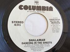 Shalamar ~ Dancing In The Sheets / same ~ Columbia 38-04372 ~ NM Promo 45
