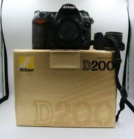 Nikon D200 fotocamera digitale reflex scheda memoria 8gb solo corpo