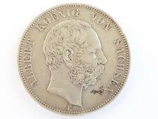 L13    SACHSEN 5,- Mark 1876
