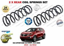FOR KIA SPORTAGE 2.0i CVVT 2.0 CRDI 2010-9/2012 NEW 2X REAR COIL SPRINGS SET