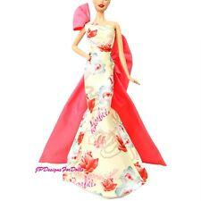 Barbie ROSE SPLENDOR COLLECTOR PINK LABEL vestito Nuovo di zecca fuori dalla scatola si adatta Muse Corpo