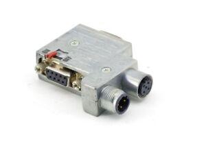 Provertha 40-1392122 Profibus Sensor Aktor-Verteiler M12 Adapter D-Sub 9-pol