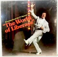 """LIBERACE excerpts from the TV SPECIAL """"THE WORLD OF LIBERACE"""" SEALED VINYL LP"""