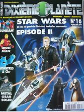 """Magazine (très bel état) - Dixième planète 16 (spécial """"Star Wars Episode 2"""")"""