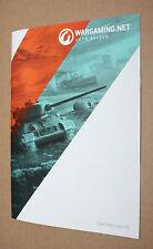 Wargaming World of Tanks Warplanes Warships promo Booklet Gamescom 2015