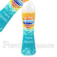 Durex juego Estremecimiento 50ml lubricante gel Fetherlite ultrafino condones