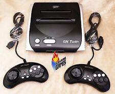 New Yobo GN Twin - Plays 8-bit Nintendo NES & 16-bit SEGA Genesis Games - BLACK