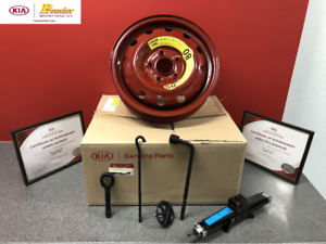"""NEW 2012-2015 KIA OPTIMA SPARE TIRE KIT FOR 16"""" AND 17""""  WHEELS 4CF40 AC950"""