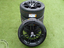 "GENUINE AUDI Q7 21""INCH 7 TWIN SPOKE BLACK EDITION S-LINE ALLOY WHEELS+NEW TYRES"