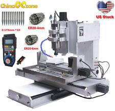 Cnc 6040 5axis 22kw Engraver Machine Usb Cbc Router For Aluminum Mill Machine