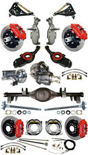 "NEW 2"" DROP SUSPENSION & 13"" WILWOOD BRAKE SET,CURRIE REAR END,ARMS,POSI,657052"