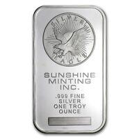Sunshine Mint (Original Design) 1 oz .999 Silver Bar (Sealed)