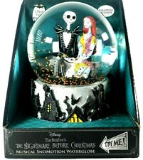 The Nightmare Before Christmas Jack & Sally Musical Snow motion Water Globe