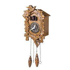 Kendal Handcrafted Wood Cuckoo Clock 10'' X 7'' X 5'' inch MX025