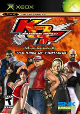 King of Fighters: Maximium Impact Maniax Xbox New Xbox