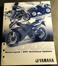 2002 Yamaha Motorcycle And Atv Technical Update Service Manual (989)