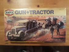 Airfix  1:76  WW II  Gun + Tractor    8,8mm + Sd.Kfz.11