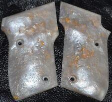 Taurus PT22/PT25 pistol grips pearl with gold leaf plastic