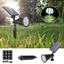 7 LED Solar Power Garden Lamp Spot Light Outdoor Lawn Landscape Path