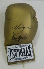 Marco Antonio Barrera & Erik Morales SIGNED AUTOGRAPH Boxing Glove AFTAL UACC