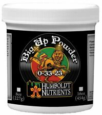 Humboldt Nutrients Big Up Powder Hydroponic Additives And Supplements 8 Oz