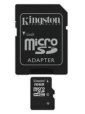 Kingston Memory Card 16GB Micro SD SDHC TF for Samsung J3 J5 J6 J7 S8 S9 S7 edge