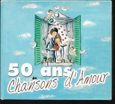 COFFRET 5 CD COMPIL 124 TITRES--50 ANS DE CHANSONS D'AMOUR--1899 A 1945